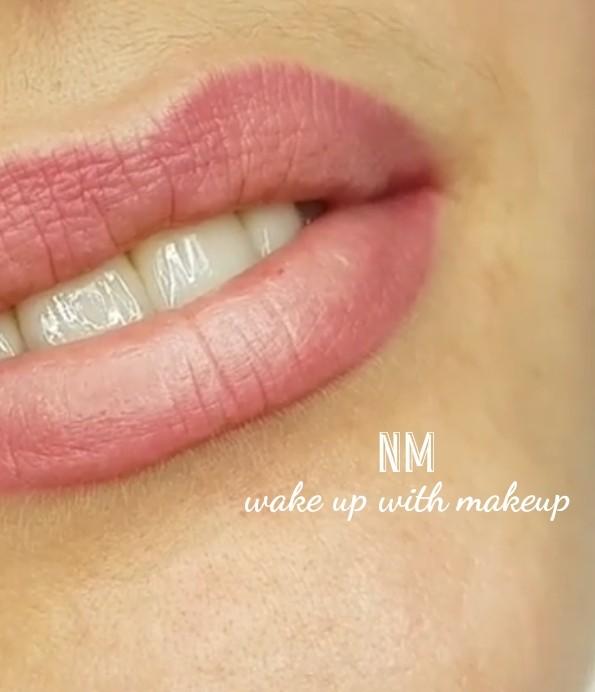 Læbe PMU - første behandling